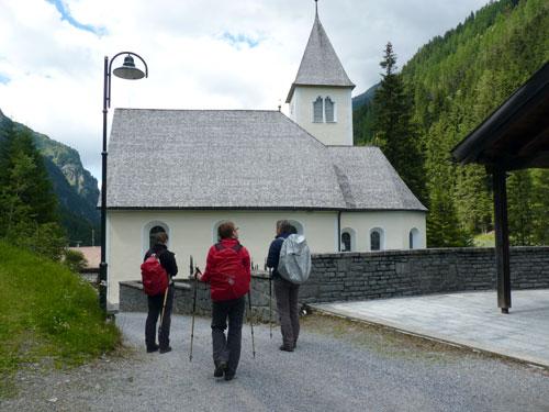 kerkje van St. Leonhard im Pitztal