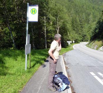 De Wandelbus is onderweg