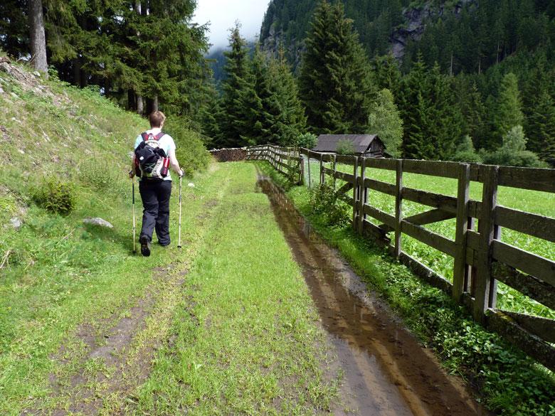 op weg naar Hairlach