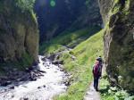De Radurschl-Schlucht met veel leuke bruggetjes