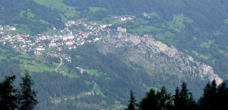 een wonderschoon uitzicht in het Oberinntal