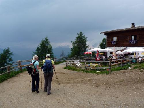 bij de Fendler Alm trekt het ook dicht in het Oberinntal