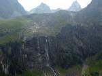 de waterval onder de Anton Renk Hütte
