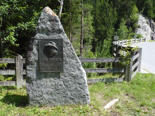 Luis Trenker monument