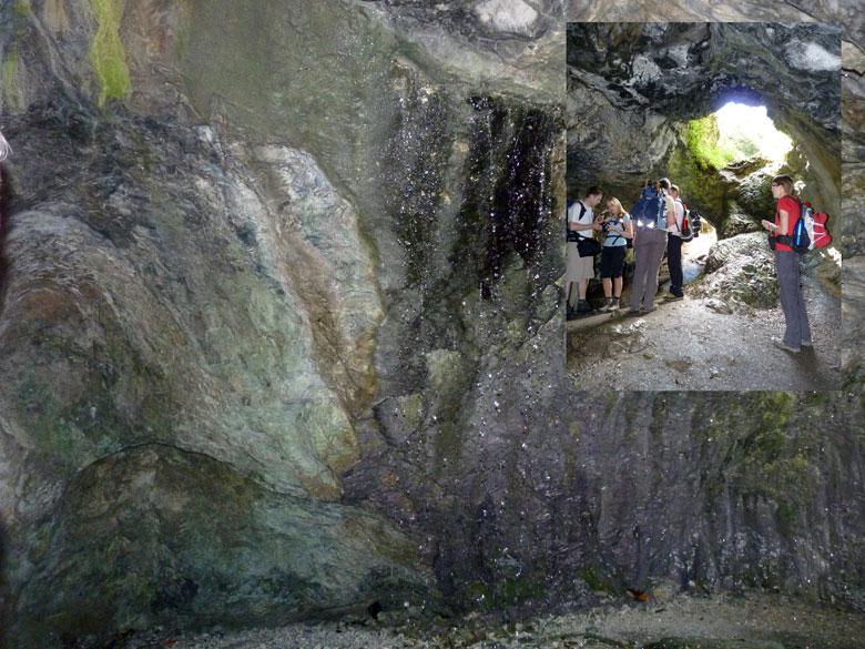 rondstappen in de Blaue Grotte