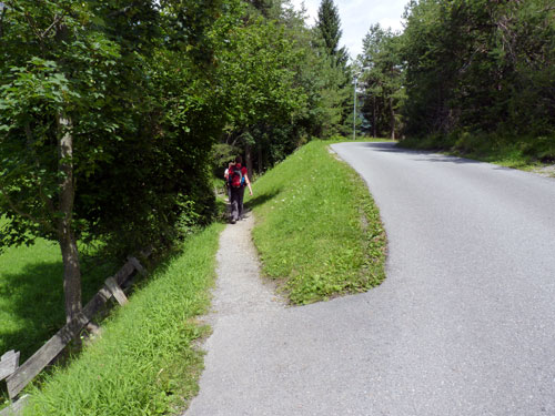 links naar het Trimmpfad Fit 2000