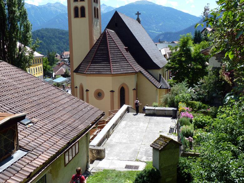 de Johanneskirche in Imst