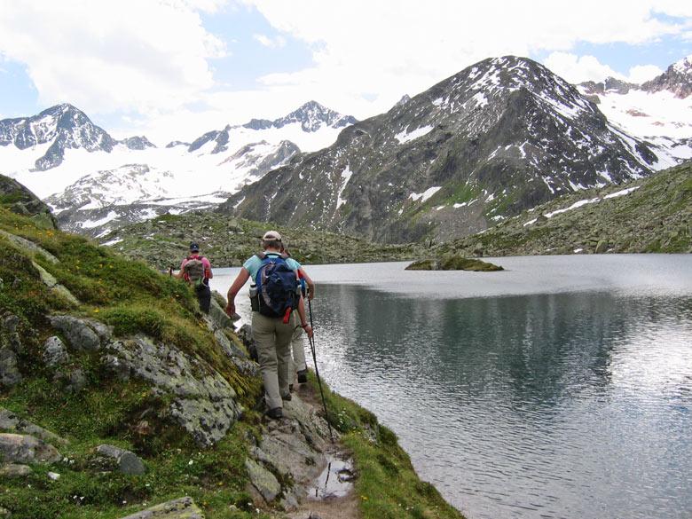 en dan..... ligt voor ons de schitterende Mutterberger See