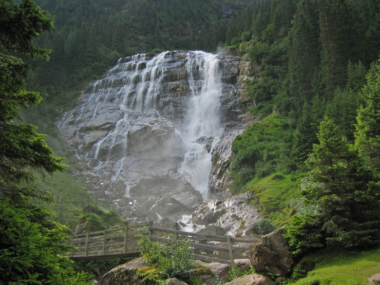 de Grawa waterval is werkelijk schitterend