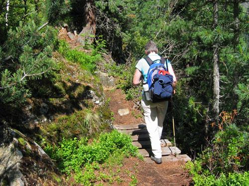 verder klimmen naar de Sulzenaualm