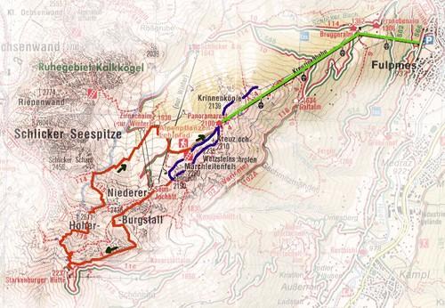 routekaart Schlick 2000