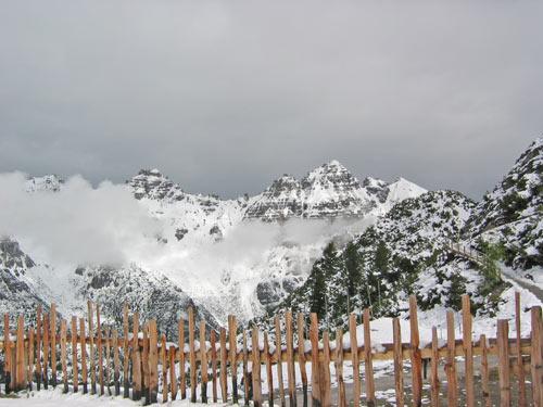 uitzicht achter de Panoramarast