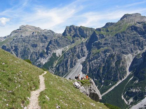 een heerlijk 1,5km lang pad met slechts lichte stijging