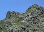 in de verte twee topkruisen op de Elferspitztürme