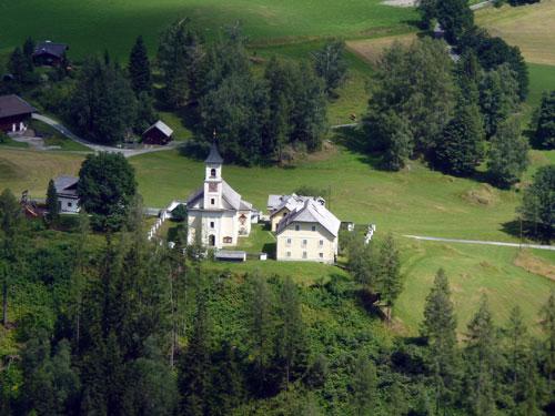 het kerkje in Bucheben