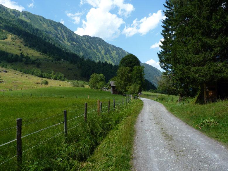 sintelweg achter het dorpje Frohn
