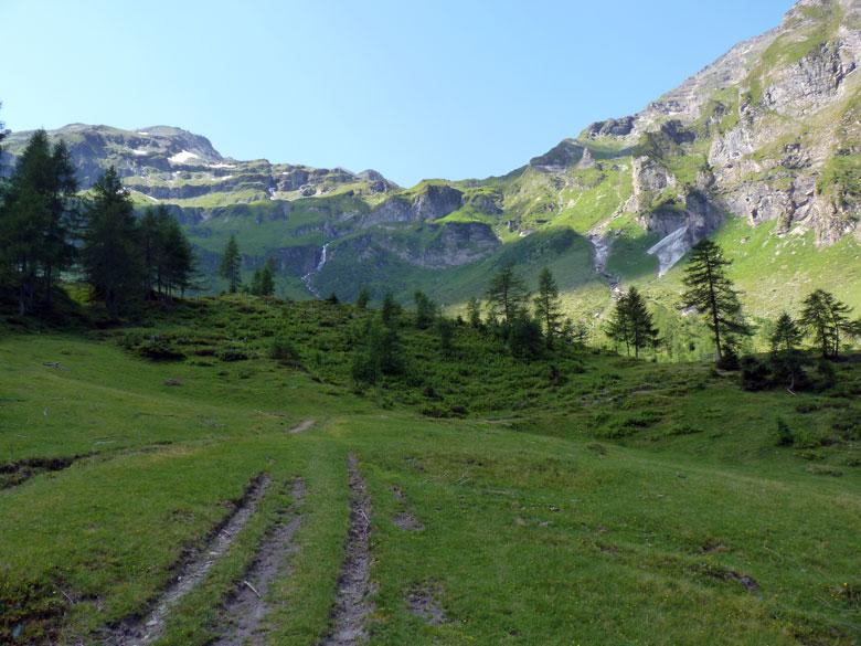 een mooi landschap rond de Feldereralm