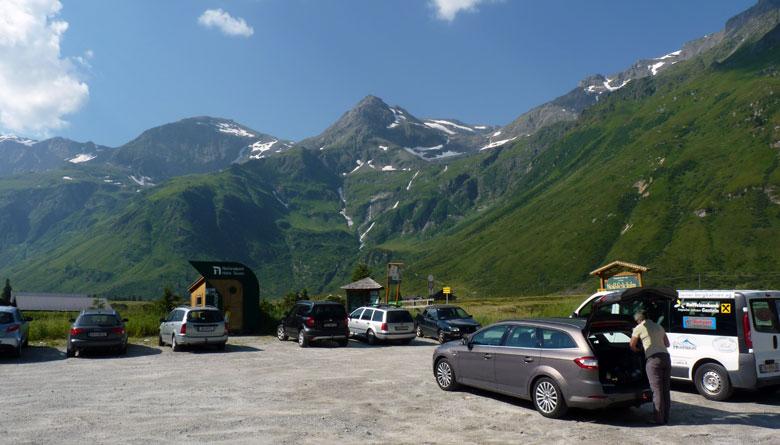 parkeerplaats Sportgastein Gasteinertal