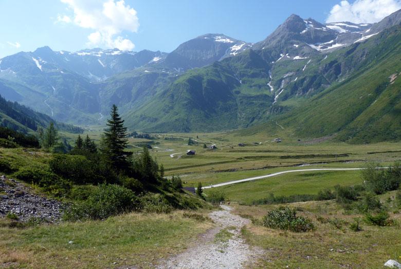 kijkje in het Sportgastein Nassfelt dal