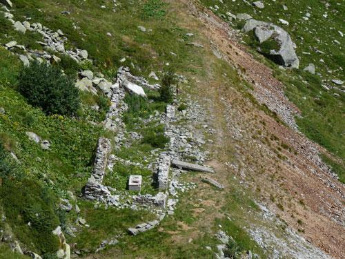 overblijfselen uit een mijnbouw verleden