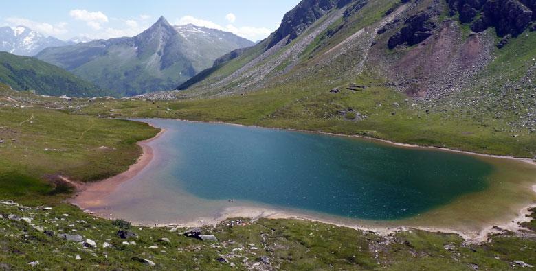 de Obere Bockhartsee is een zwemmeertje