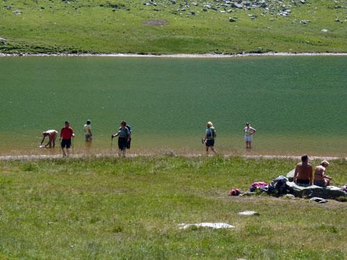 terug bij de See even pootjebaden