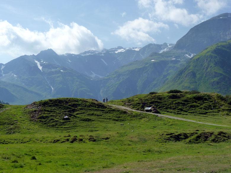 het eerste kijkje op in prachtige dal