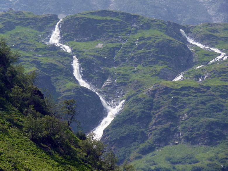 de watervallen van de Schlapperebenbach