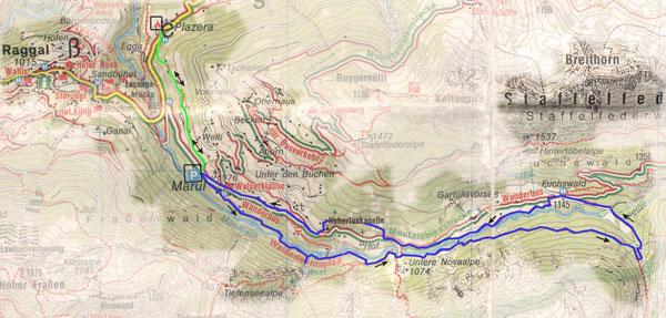 routekaart Marul