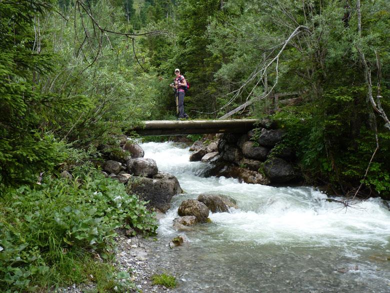 weer een brug, een mooi plekje voor een tweede pauze