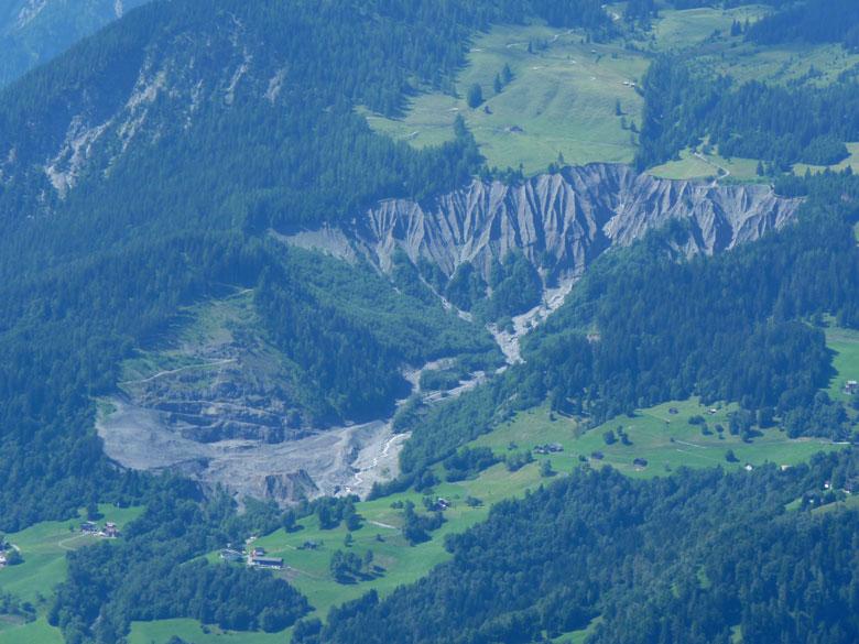 de Murbruch gezien vanaf de Hoher Frassen