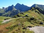 beklimming van de Zafernhorn top