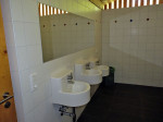indrukken van het nieuwe sanitair