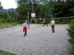 volleyballen, beachvoetbal of badminton