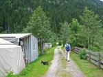 wandelpad richting de Mischbach waterval