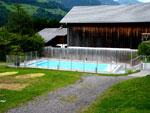 het zwembad is 4 x 10m