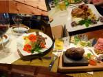 Prima keuken met veel forel specialiteiten