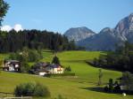 uitzicht op het Dachstein gebergte
