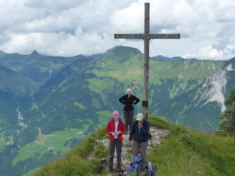 op de top van de Glattmar
