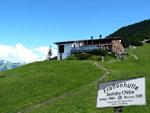 fantastische uitzichten rond de Frassenhütte