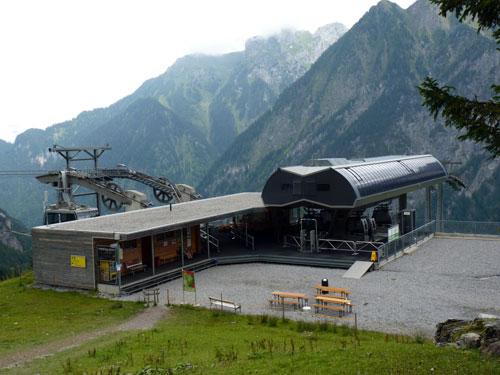 bergstation Brand Dorfbahn