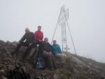 op de uitzichtberg Mondspitze