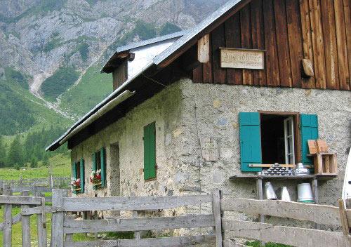 Bewirtschafteter Ingridhütte
