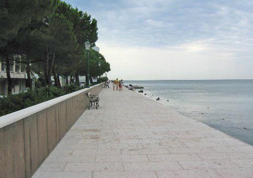 Zuidelijke boulevard aan de golf van Venetië