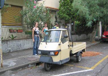 De typisch Italiaanse driewielers