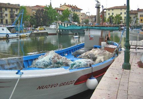 Grado heeft wel iets van Venetië