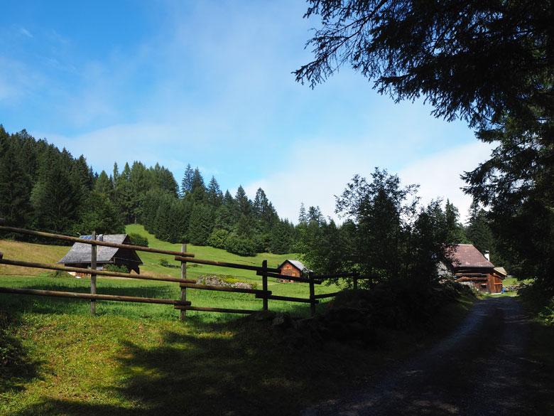 een hele rustige Alm bij Vilschena