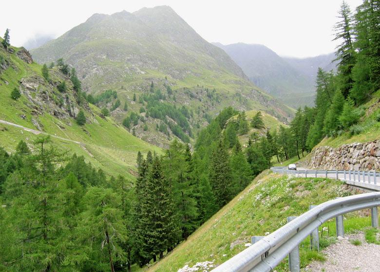 weer richting Oostenrijk