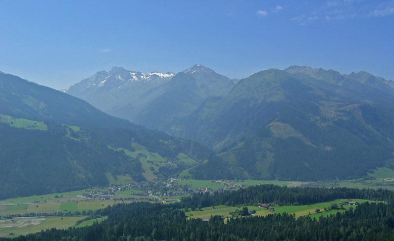 Uitzicht vanaf Pass Thurn