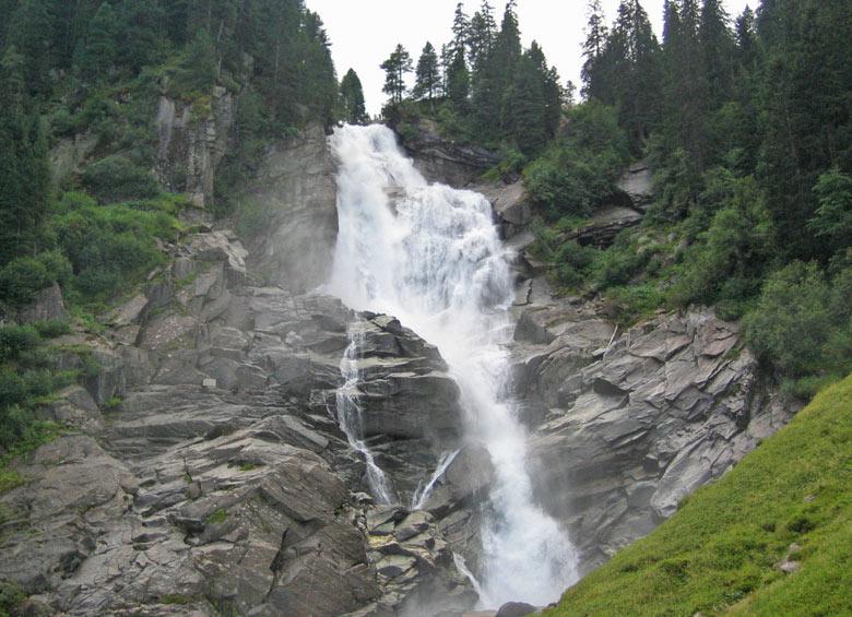 de Krimml watervallen